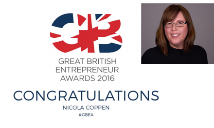 Local Business Woman shortlisted in Great British Entrepreneur Awards