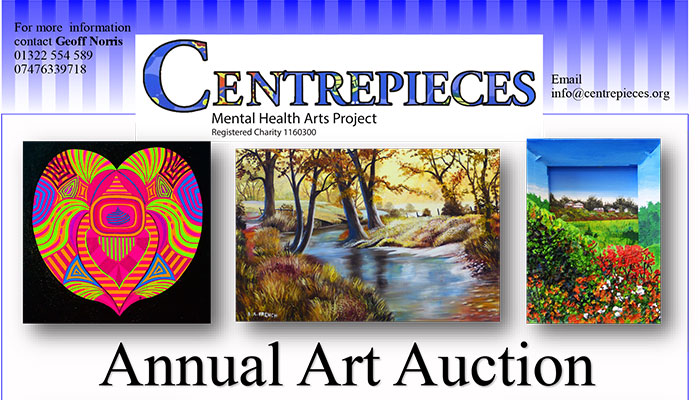 Centrepieces art auction
