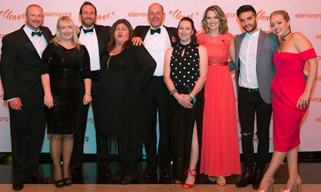 Orange Ball raises record amount for hospice charity ellenor