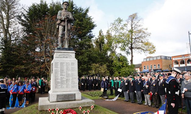 Annual Service of Remembrance in Central Park