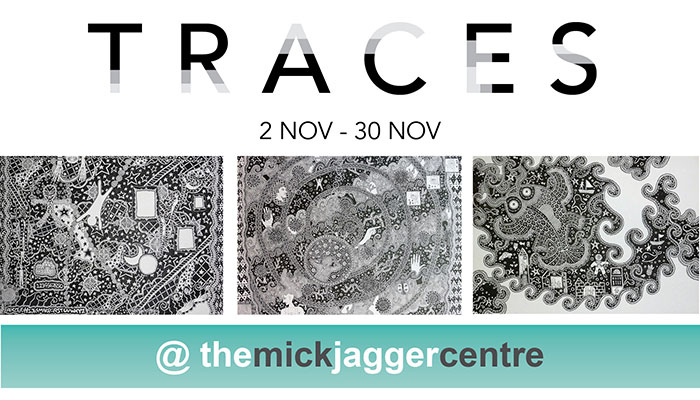 TRACES – A DAN Exhibition at The Mick Jagger Centre in Dartford