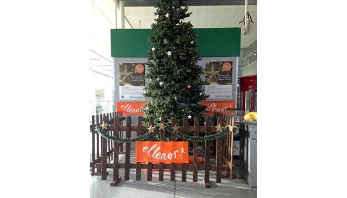 Support ellenor at  Ebbsfleet International Station this Christmas