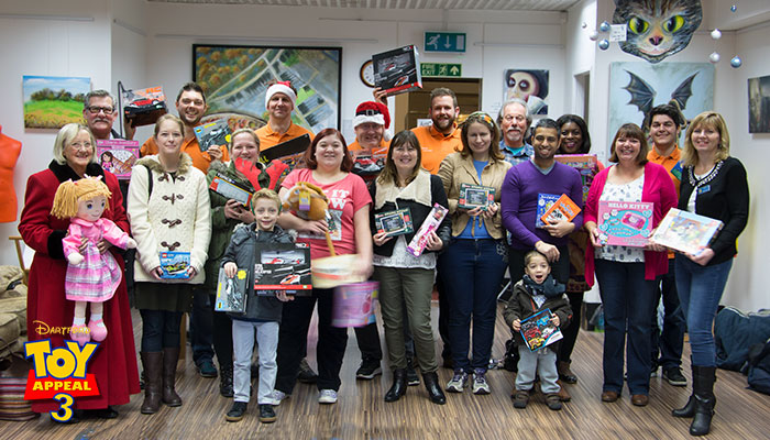 Toy Appeal 3 Group Photo