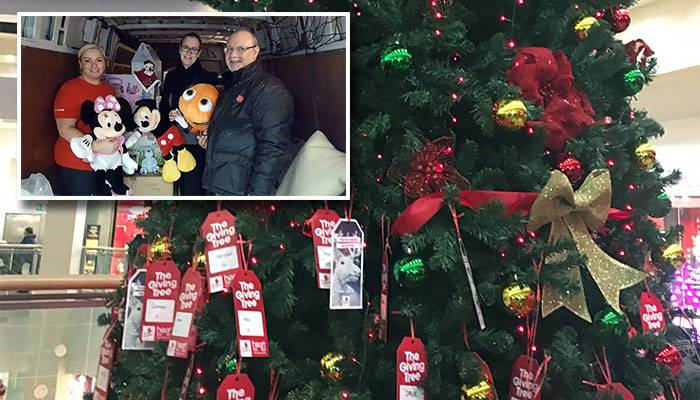 Kent Families not forgotten this Christmas at Bluewater