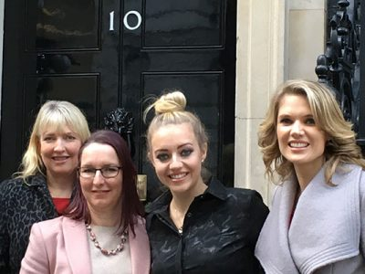 ellenor at 10 Downing Street