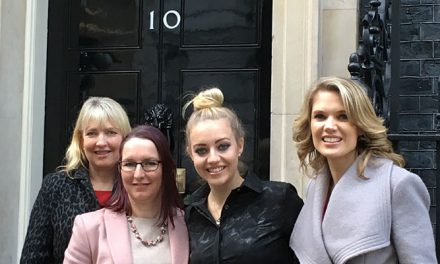 Ellenor invited to 10 Downing Street to mark  the first Local Charities Day