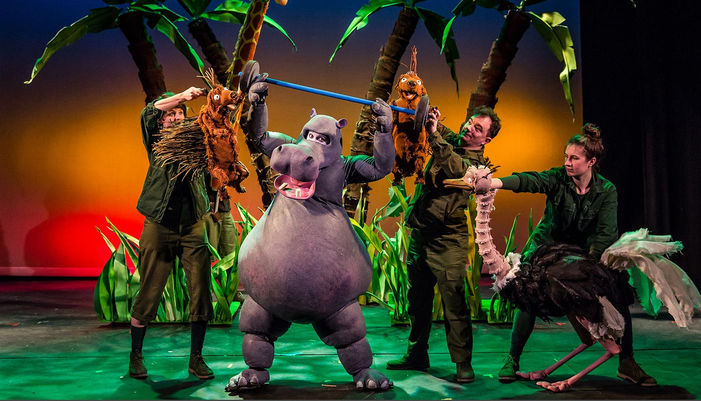 Les Petits Theatre Company's The First Hippo on the Moon