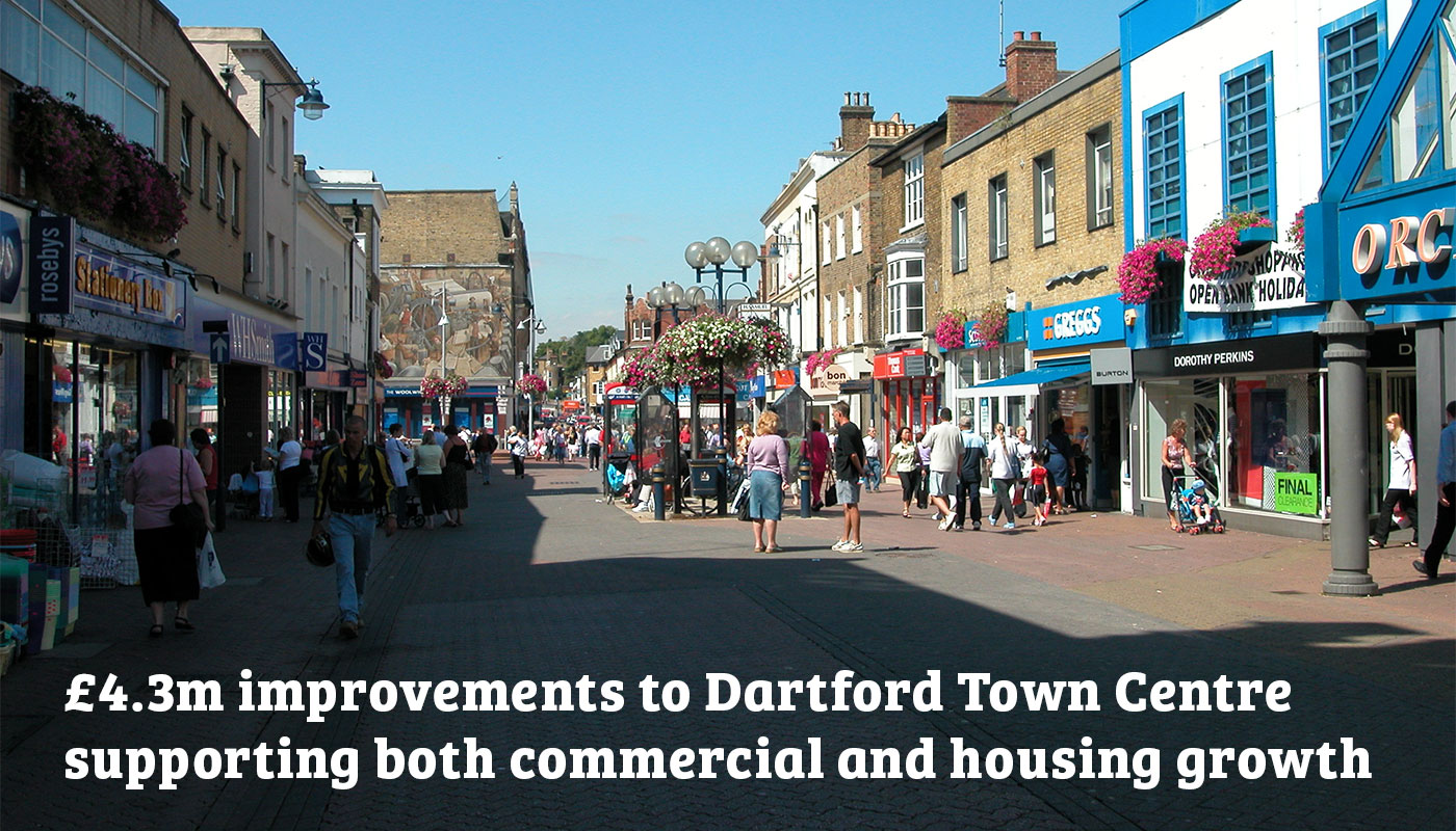 Good news for Dartford: £34.2m cash boost for Kent & Medway to help create local jobs and growth