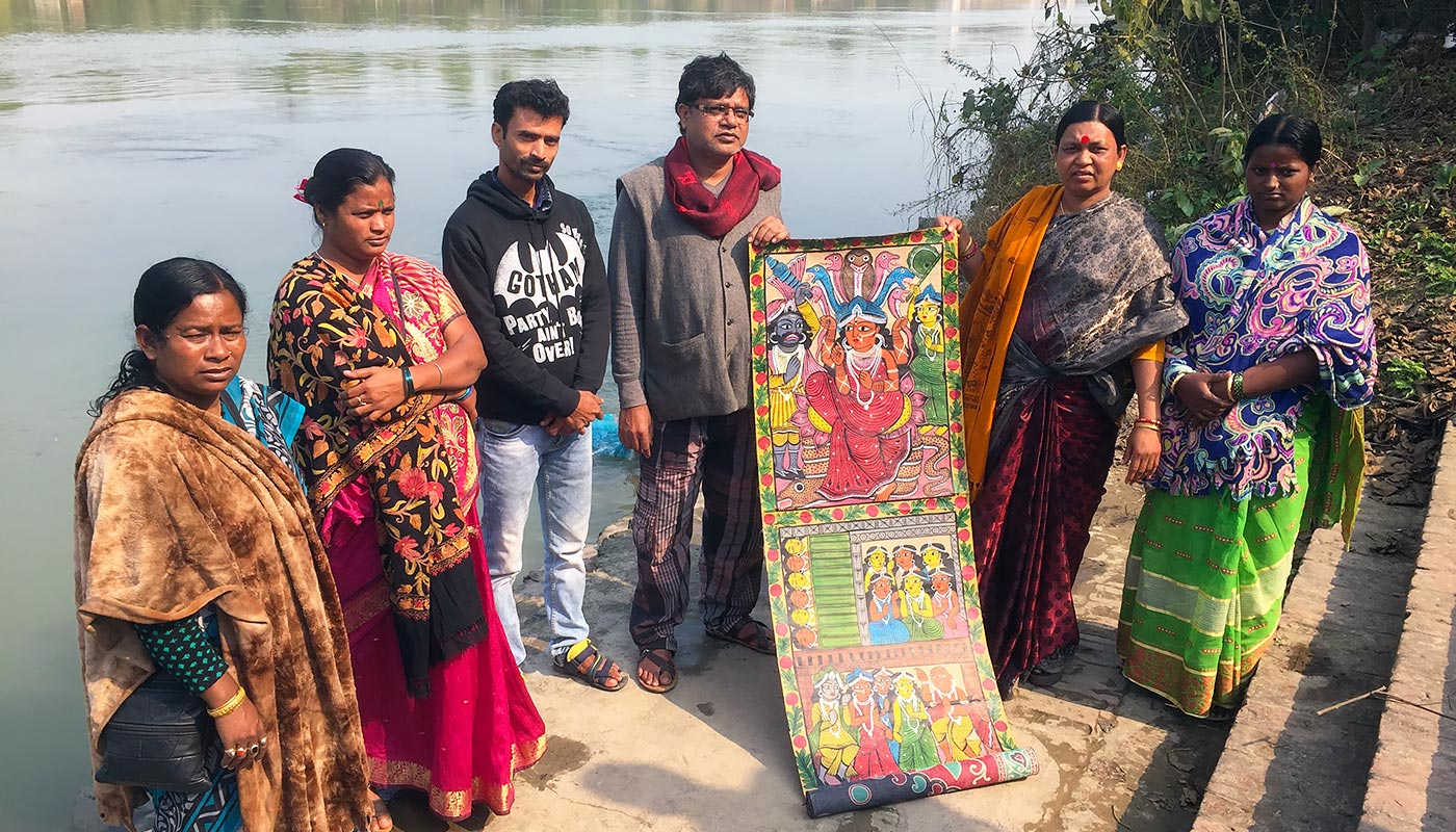 Dartford to receive visit from Indian Patachitra artists
