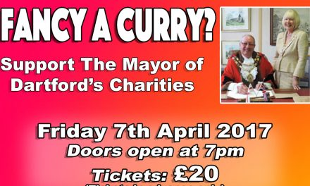 Dartford Mayor Charity Curry Night 2017