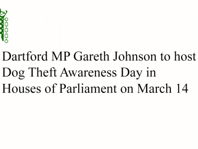 Gareth Johnson Dog Theft Awareness
