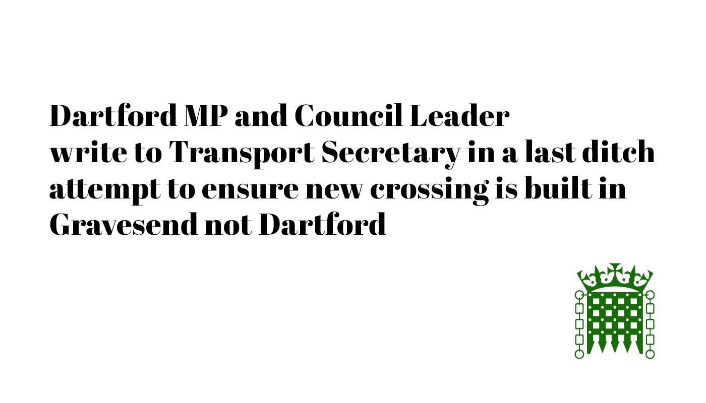 MP Writes to Transport Secretary