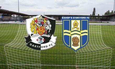 Final Home league game sees Dartford hammer Bishop's Stortford