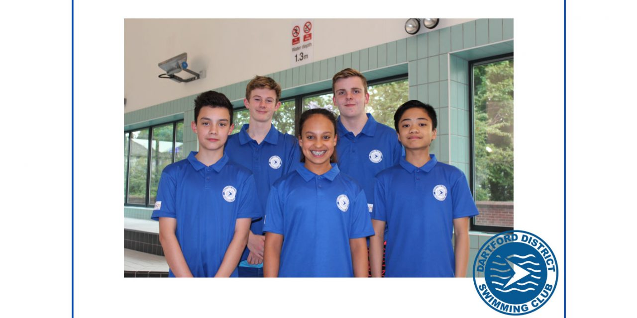Dartford qualifiers for the South East Regional Swimming Championships
