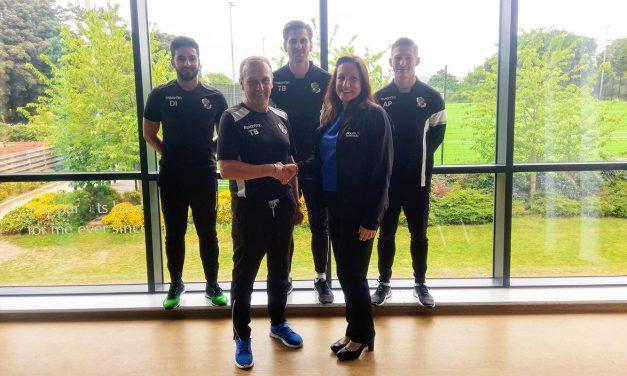 Fairfield Leisure renew official training partner sponsorship
