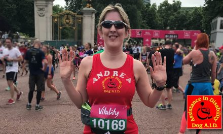 Greenhithe Lady Raises £2678.25 for Dog A.I.D.