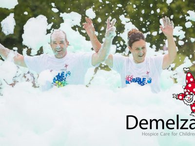 Demelza Bubble Rush 2017