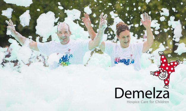 Demelza's Frothy, Foamy, Famiy Fun Run Returns to Dartford