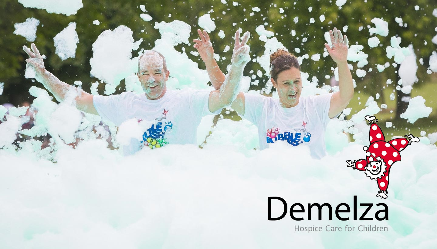 Demelza's Frothy, Foamy, Famiy Fun Run Returns to Dartford