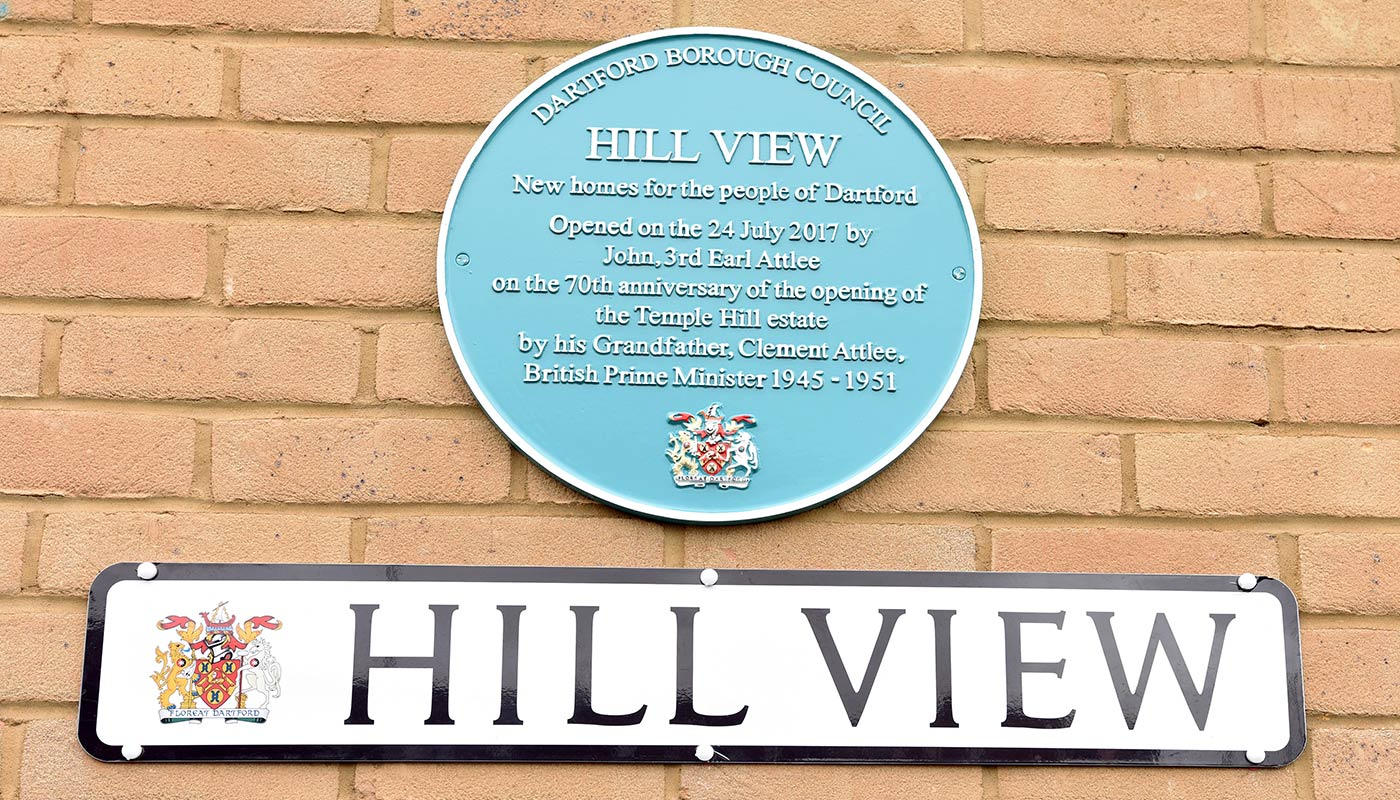 Hill View Plaque