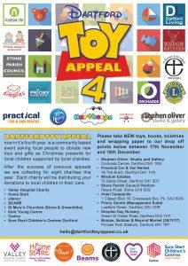 Dartford Toy Appeal 4 Poster