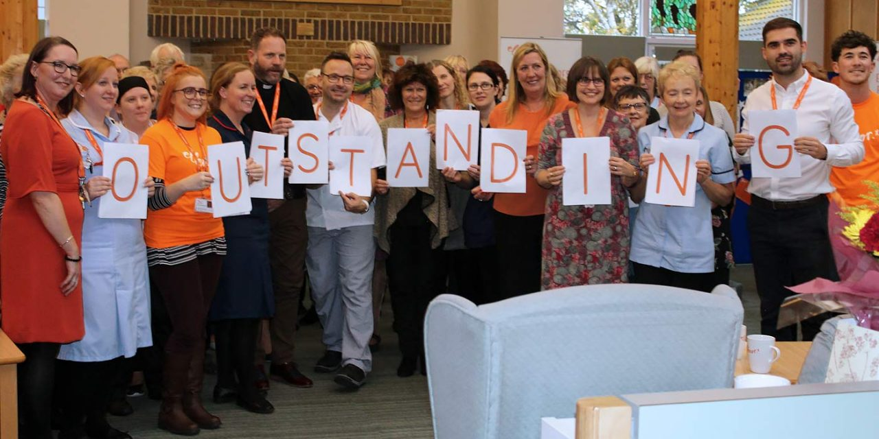 Kent Charity Ellenor Rated Outstanding by the Care Quality Commission