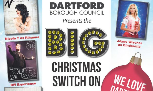 Dartford's Getting Ready For Some Christmas Sparkle