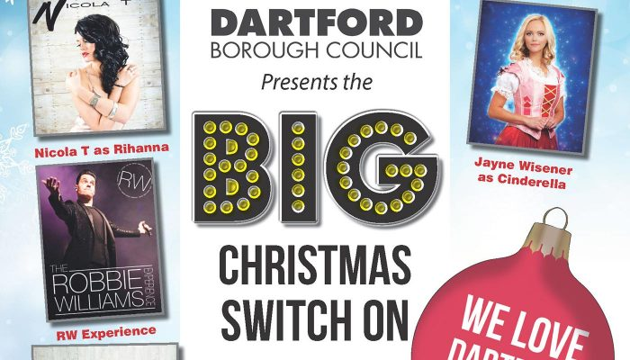 Big Christmas Switch On 2017