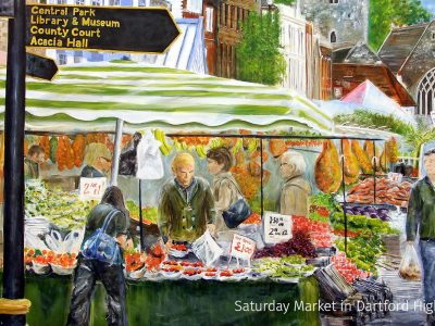 Saturday Market in Dartford