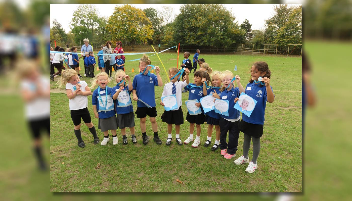 Race For Life – Holy Trinity School Races Into Charity Donation
