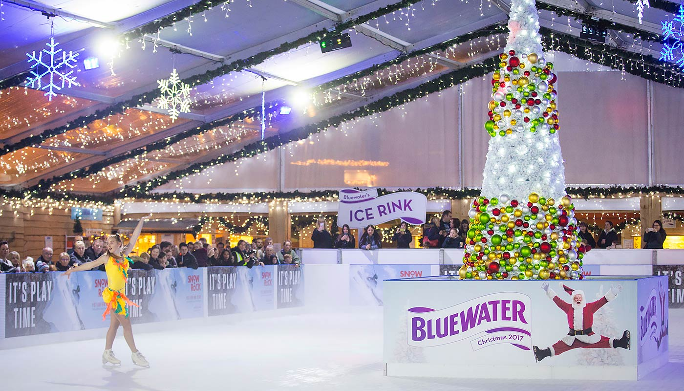 Bluewater's Stunning Christmas Ice Rink Returns