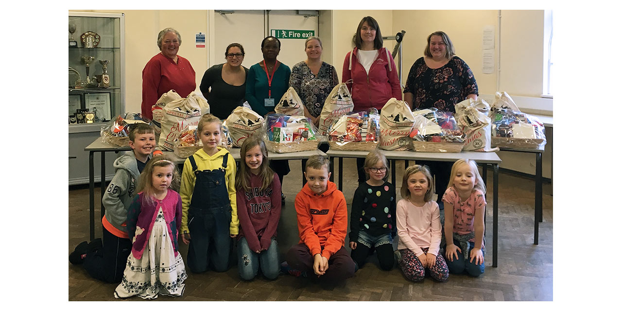 Local Church Provides Families With Festive Hamper Cheer