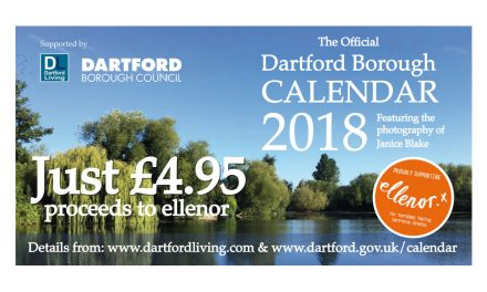 Local Resident's Photographs Feature in First Official Dartford Borough Calendar