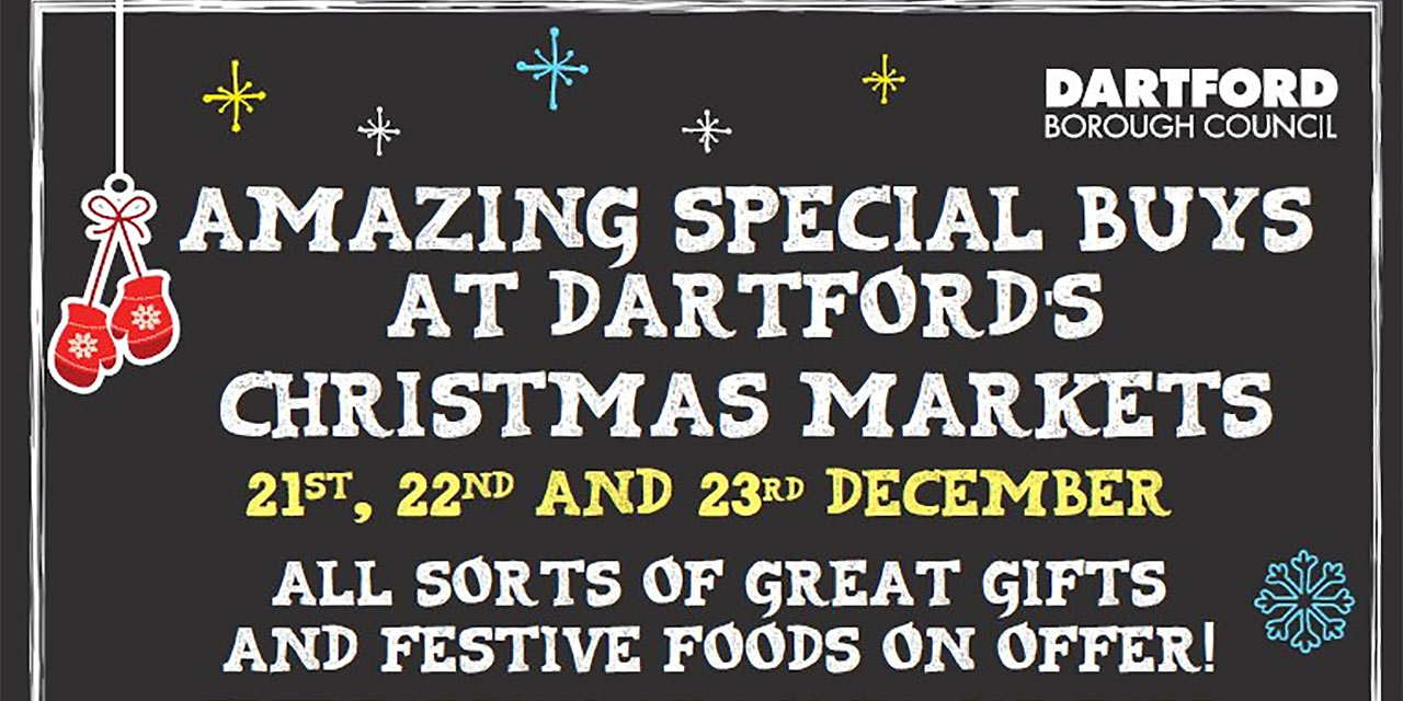 Three Days of Christmas Activity at Dartford's Markets