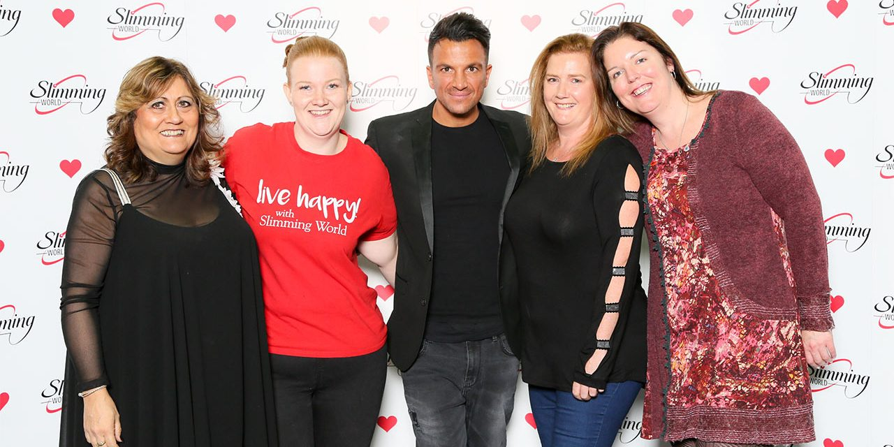 Dartford Slimming World Consultants Celebrate Record Year with Aussie Singer Peter Andre