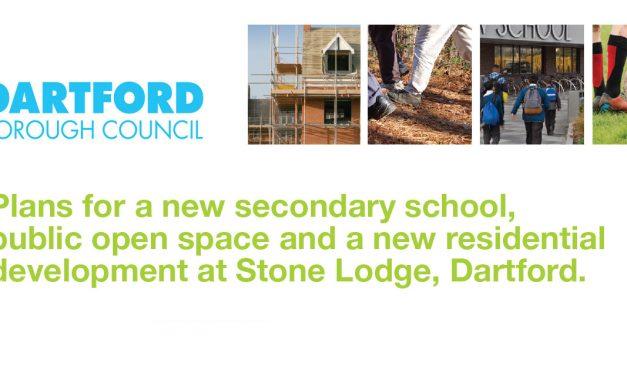 Plans for New Developments at Stone Lodge, Dartford