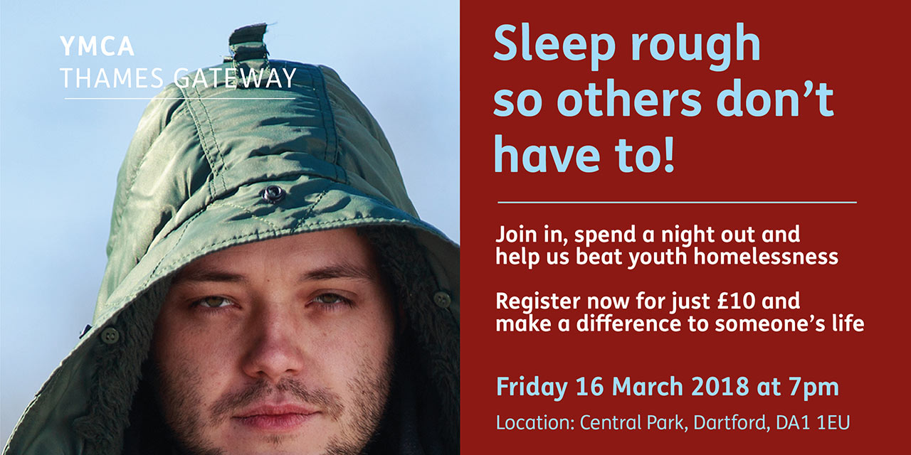 Sleep rough so others don't have to!