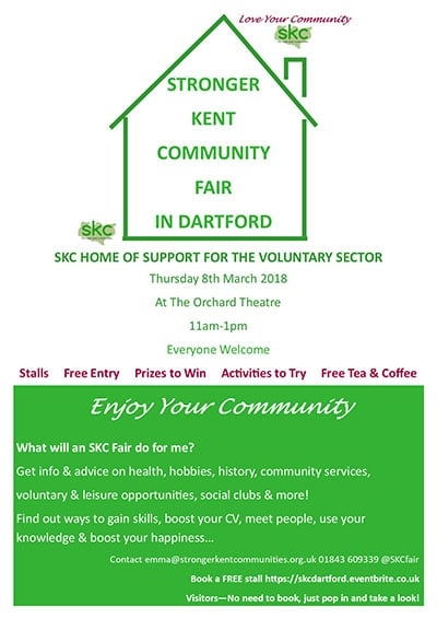 SKC Dartford Fair Poster