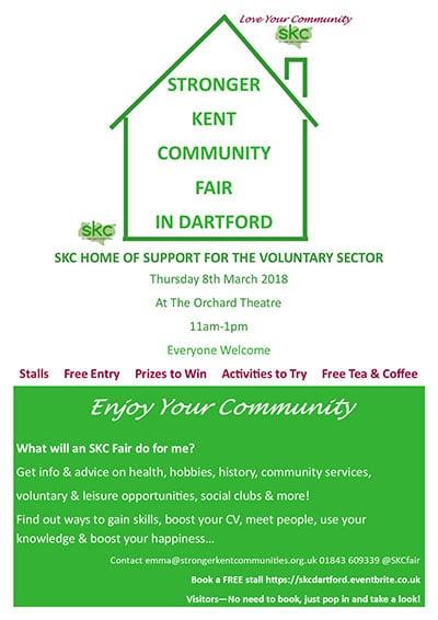 SKC Dartford Fair Poster