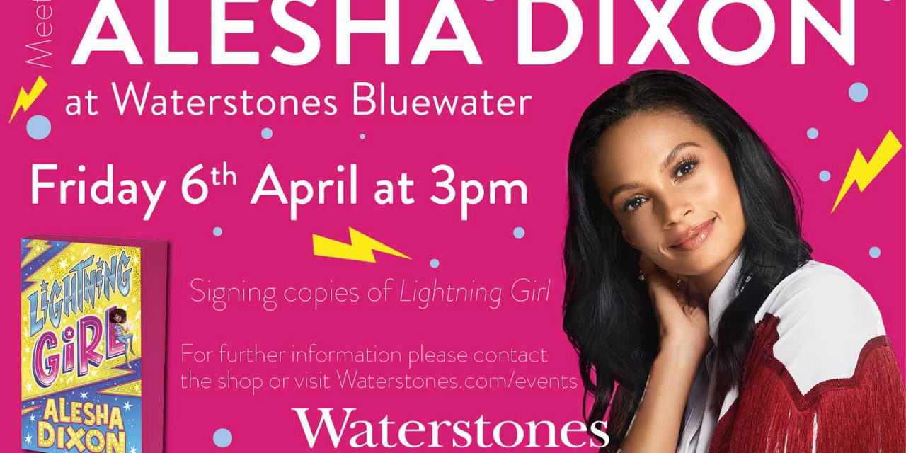 Alesha Dixon to Visit Waterstones Bluewater