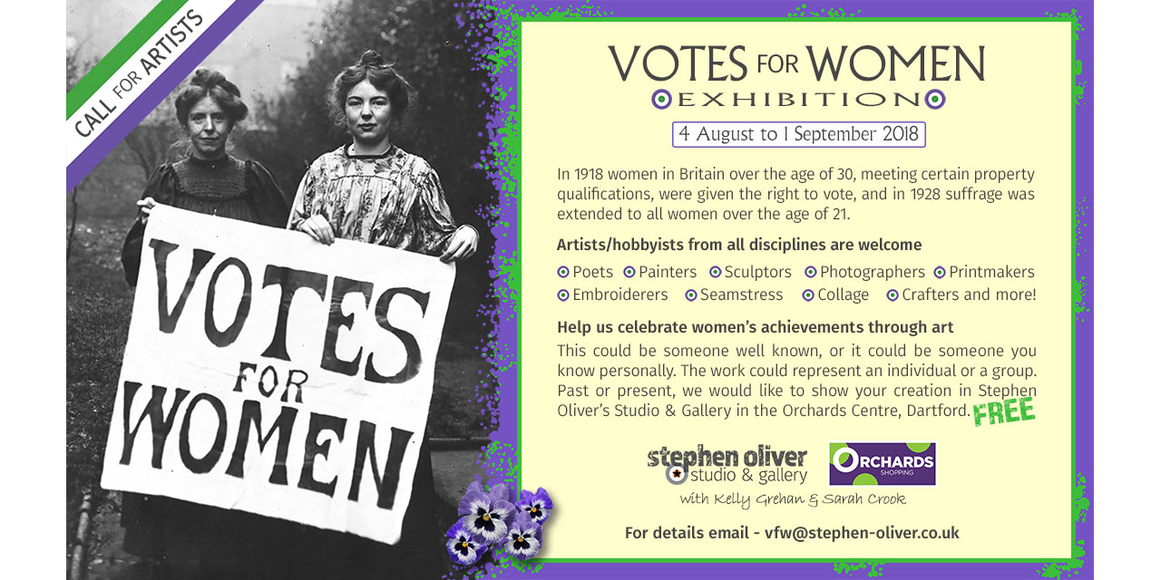 Votes for Women Web Poster
