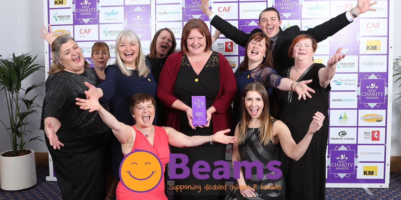 Beams Winner of the Best Children's Charity award