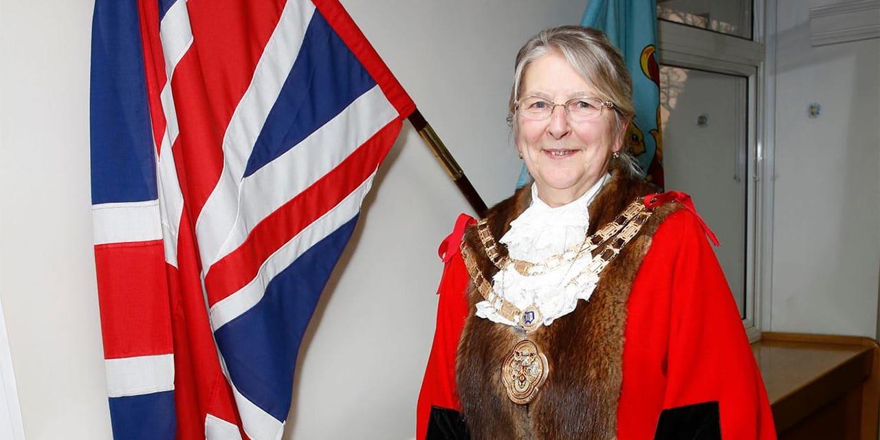 Mayor of Dartford Councillor Rosanna Currans