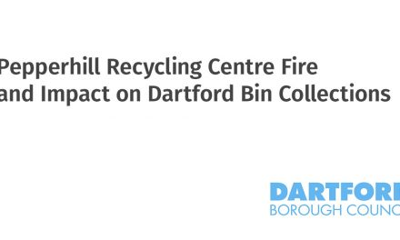 Pepperhill Recycling Centre Fire and Impact on Dartford Bin Collections