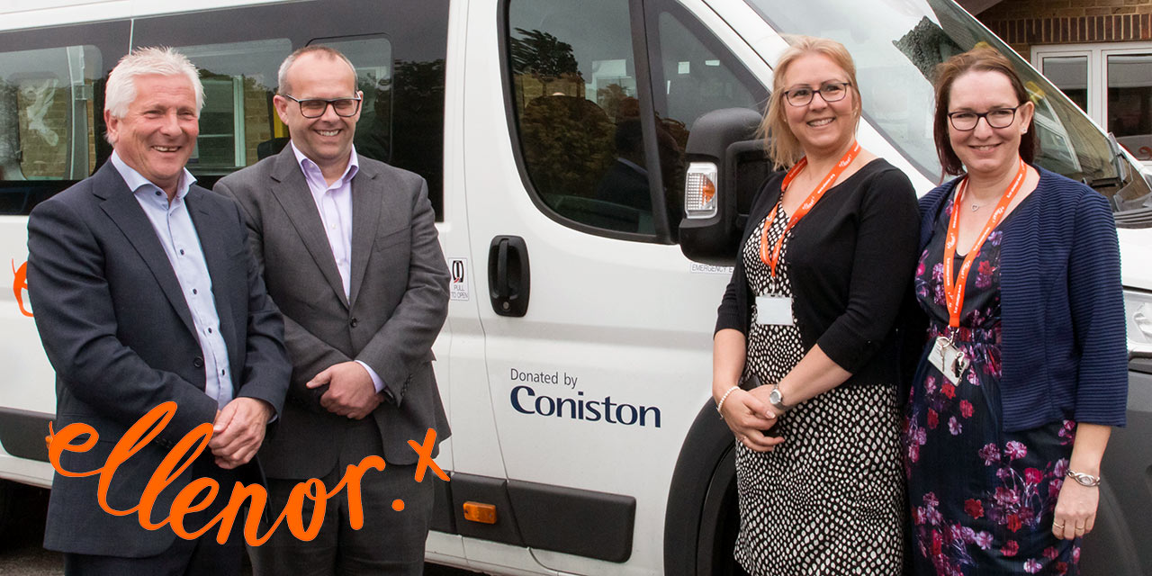 A New Minibus for ellenor, Courtesy of Generous Donation
