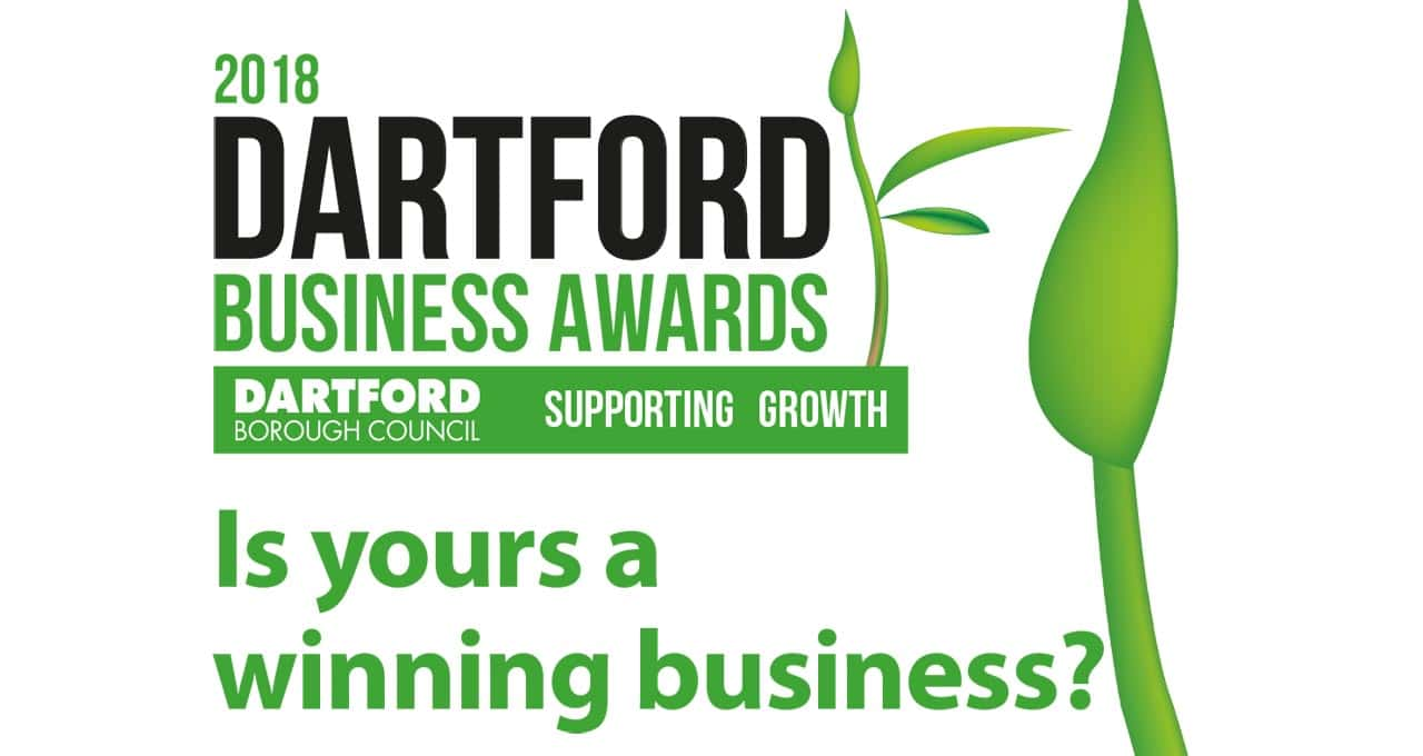 The 2018 Dartford Business Awards are open for entry