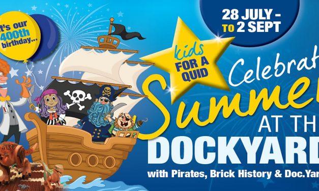Summer at The Historic Dockyard, Chatham