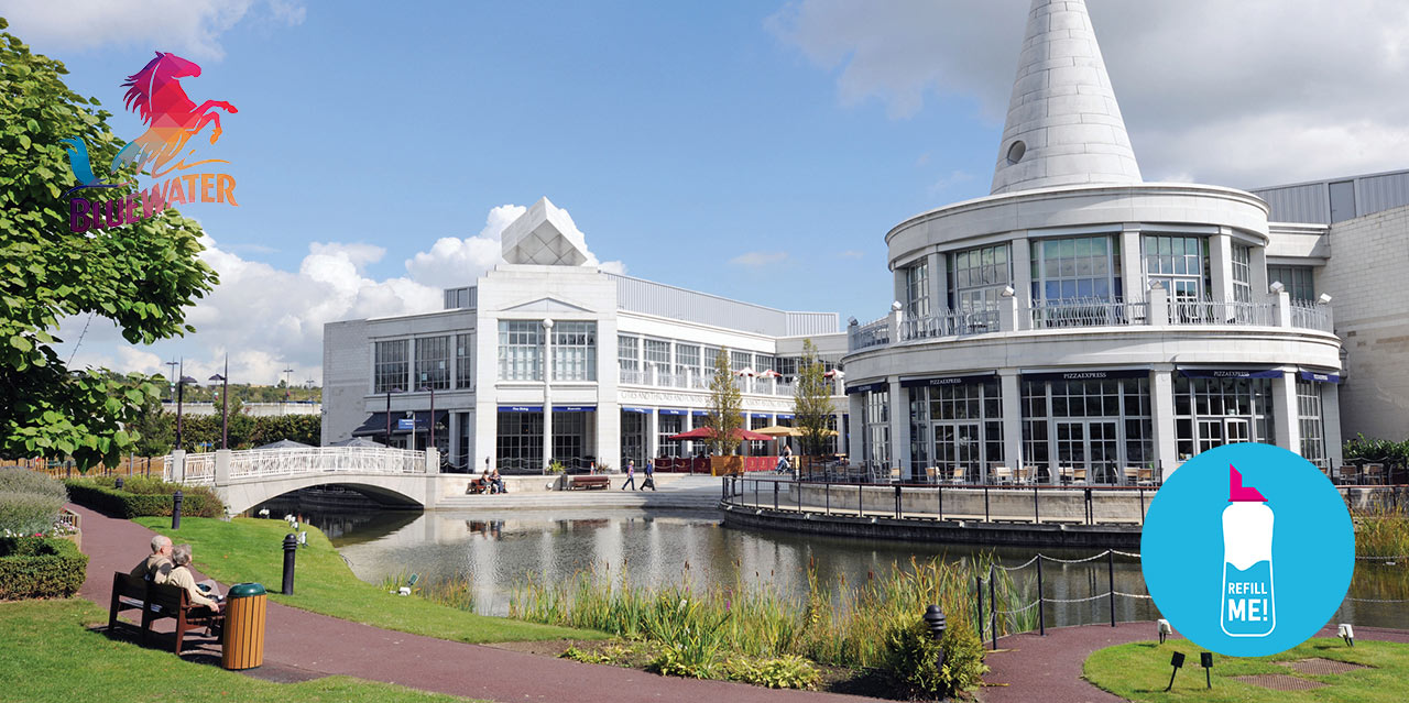 Bluewater Announces 'Refill Me' Initiative