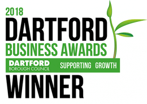 Dartford Business awards wINNER 2018