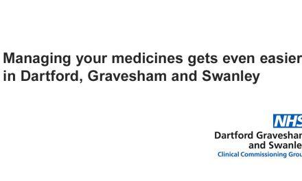 Managing your medicines gets even easier in Dartford, Gravesham and Swanley